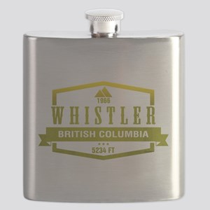 Whistler Ski Resort British Columbia Flask